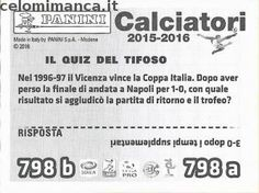 Calciatori 2015-2016: Retro Figurina n. 798 Mario Sampirisi - Leandro Rinaudo