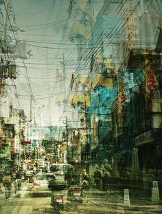 via Vibrant Portraits Of Japan Using Multiple-Exposure (http://designtaxi.com/news/352603/Photographer-Captures-Vibrant-Portraits-Of-Japan-Using-Multiple-Exposure/)
