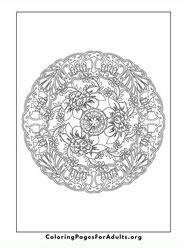 Lots of coloring pages for adults.