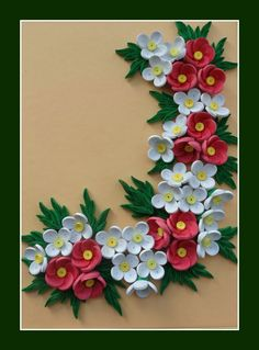 Quilling for Kids Neli Quilling, Paper Quilling Cards, Quilling Work, Paper Quilling Patterns, Quilled Paper Art, Quilling Craft, Quilling Photo Frames, Quilling Flowers Tutorial, Origami