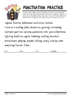 grade 4 halloween worksheet cloze the gap challenge halloween worksheets pinterest. Black Bedroom Furniture Sets. Home Design Ideas
