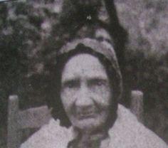 "Nancy Vance Hatfield Wife of Ephraim Hatfield Mother of Valentine""Wall"" Hatfield and ""Devil"" Anse Hatfield"