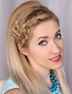 Famous braids for medium hair length Medium Hair Braids, Medium Hair Styles, Curly Hair Styles, Lob Hairstyle, Dress Hairstyles, Fantasy Hairstyles, Classy Hairstyles, Gorgeous Hairstyles, Shoulder Length Hair