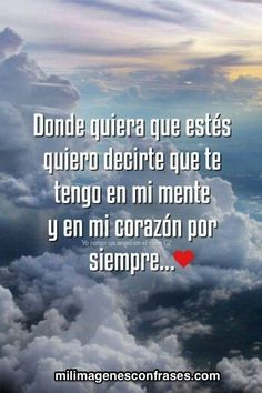 Images with phrases for an angel in heaven - Modern Missing My Brother, Miss You Mom, Heaven Quotes, Love Phrases, Angels In Heaven, Condolences, Spanish Quotes, Positive Thoughts, Positive Phrases