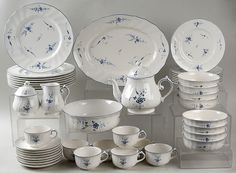 "My first set- Villeroy & Boch ""Vieux Luxembourg"""
