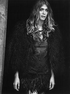 Elisa Sednaoui Gets Cinematic for Peter Lindbergh in Vogue Italia September  2012 Peter Lindbergh, Elisa 598d7085fa