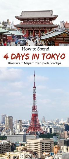 http://travelyesplease.com | How to Spend 4 Days in Tokyo- Our Itinerary (Blog Post) | Tokyo, Japan