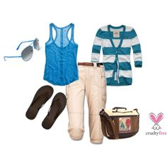 Blue, created by pbmhuck on Polyvore