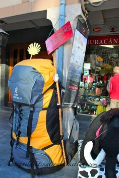 Tips for walking the Camino de Santiago. ** All and any information re the Camino is good to keep.