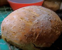Homemade Organic Red Fife Bread - Bread machine and oven baked Bread Machine Recipes, Flour Recipes, Bread Recipes, Cooking Recipes, How To Make Waffles, How To Make Bread, Bread Head, Bread Dumplings, Rustic Bread