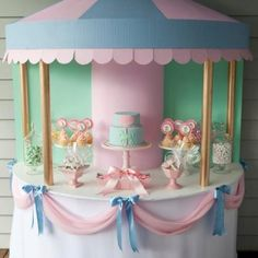 Lovely Carousel Party