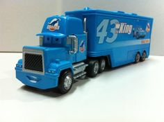 Pixar Cars Mack Uncle No.43 King Racer's Truck Diecast Toy Car Loose 1:55 Brand New In Stock & Free Shipping