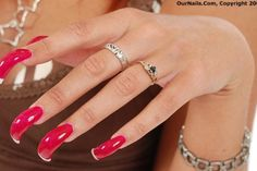 Acrylic nails ❤ Pinned by Cindy Vermeulen. Please check out my other 'sexy' boards. X.