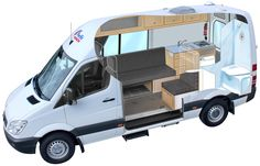 camper van bed - Google Search