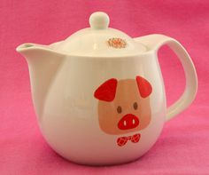 Japanese Piggy Teapot ~ * M Y * P I G G Y * C O L L E C T I O N *