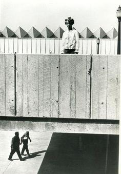 Overpass in Curlers, Baltimore, 1967