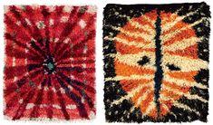 Viola Gråsten: det mest förbjudna – Rävjägarn Textiles, Textile Prints, Rya Rug, Fibre Art, House Layouts, Punch Needle, Soft Sculpture, Wall Hanger, Rug Hooking