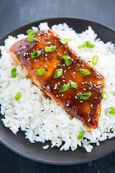 Teriyaki Salmon | Cooking Classy