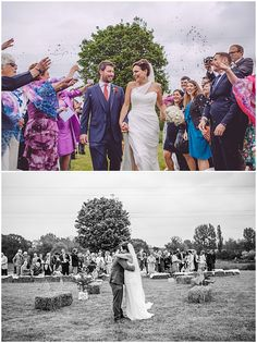 Bride Kate wears Romona Keveza collection gown RK304 down the aisle and into the arms of her new husband. | Photography by Kate Scott Photography
