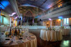 great wedding moments at -Berkeley Church - Toronto Wedding Venue Glass French Doors, Glass Doors, Dramatic Lighting, Winter Wonderland Wedding, Wooden Decks, Toronto Wedding, Event Decor, Event Ideas, Event Venues