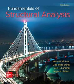 Solution Manual for Fundamentals of Structural Analysis edition by Leet Chia Ming Uang and Joel Lanning 0073398004 9780073398006 Chia-Ming Uang Fundamentals of Structural Analysis Fundamentals of Structural Analysis Edition Joel Lanning Leetfind testbanks Vigan, Structural Analysis, Free Pdf Books, Free Ebooks, Forever, Civil Engineering, Book Collection, Higher Education, Ebook Pdf
