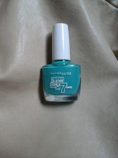 o blog da claudia amaral: Weekend Nails #16 forever more green