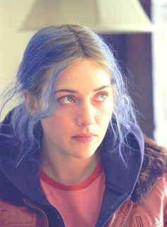 "Clementine Kruczynski in ""Eternal Sunshine of the Spotless Mind""- Kate Winslet."
