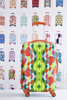 Fabulous luggage patterns aren't built in a day! Head on over to our Container Stories blog to see a passport to our creative process that produces the beautiful patterns you see during our Travel SALE!
