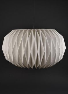 Sphere Natural Pleated Paper Lampshade | Handmade and Fairtrade – Ian Snow Ltd