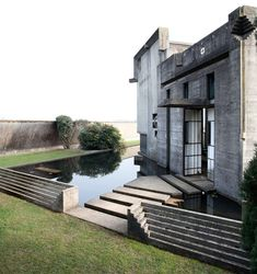 This remarkable private cemetery can be found in the small Italian village of San Vito D'Altivole, the birthplace of Giuiseppe Brion for whom this monument was primarily intended. It was designed by Carlo Scarpa in…