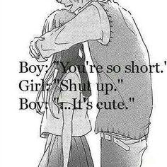 Girl- (Blushes)