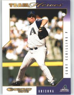 2003 Donruss Team Heroes 20 Curt Schilling - Arizona Diamondbacks (Baseball Cards) *** Click image to review more details.