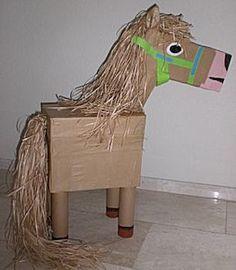 Knutselwerkje Haan of paard van knutselidee. Farm Animals Preschool, Farm Animal Crafts, Farm Crafts, Animal Crafts For Kids, Horse Crafts, Animal Projects, Farm Day, Valentine Day Boxes, Vacation Bible School