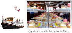 B Bakery specialises in Afternoon Tea with a French Twist - L'Afternoon Tea. We offer fabulous Afternoon Tea experiences in London and Bath. Down The River, Motor Yacht, River Thames, Boat Tours, Afternoon Tea, Bakery, Bb, Culture, London