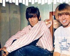 Keith Richards & Brian Jones Rollin Stones, Hot Band, Keith Richards, The Man, Robin, Singer, Actors, Celebrities, Model
