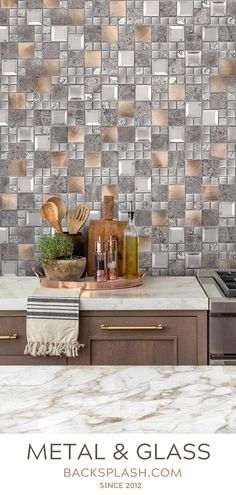 22 Best Brown Kitchen Backsplash Tiles