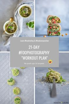 "Food Photography ""workout plan"" where you can learn about food Composition & Food Styling by Healthy Laura Food Photography & Styling HealthyLaura Best Food Photography, Photography Pricing, Iphone Photography, Editorial Photography, Food Styling, Love Food, A Food, Creative Food, My Favorite Food"