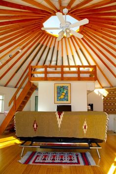 This Is Not A Typical Yurt It Has Dry Wall And Bamboo Flooring For A Pleasing Look And Effective Insulation There Is House Rental Vacation Rental Vacation