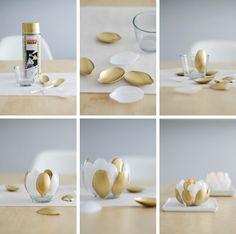 Una Pizca de Hogar: Farolillos con viejas cucharas de plástico, (DIY)