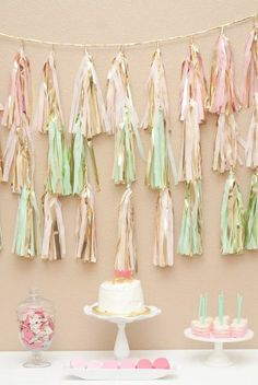 Gorgeous little girl party!