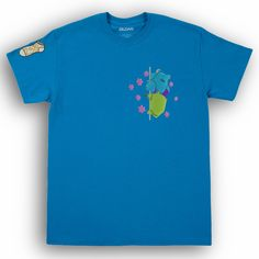 Monsters Inc Embroidered T-shirt - L