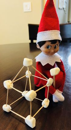 Elf on the Shelf Science Our elf just raided my science supplies and came up with some fun easy experiments to show the kids during Christmas! I hope it inspires your elf too! Elf in Slime As it turns out, elves can'… Christmas Elf, Christmas Crafts, Christmas Decorations, Christmas Carol, Christmas Ideas, Slime, Awesome Elf On The Shelf Ideas, Der Elf, Elf Auf Dem Regal