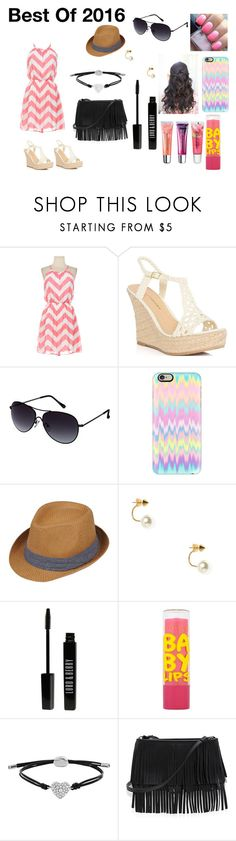 """""""Shopping And Taking A @Walk On The Beach With My BFFS"""" by swagger652 ❤ liked on Polyvore featuring uroda, JustFabulous, Kenneth Cole Reaction, Casetify, Black Rivet, Jeweliq, Lord & Berry, Maybelline, FOSSIL i White House Black Market"""