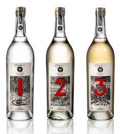 123 OrganicTequila - The Dieline -