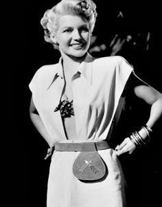 Rita Hayworth in The Lady From Shanghai (1947)
