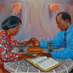 A family that prays together stays together.