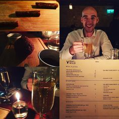 Amazing dinner @macandwild with the bald one  we had venison scotch egg and a beer stick to start (and some haggis - not pictured!) mains were a venison beetroot and pomegranate salad for me which was the  and a burger for @baldygram3000 all washed down with a cheeky bottle of prosecco #guilteeee  #datenight #baldy #foodporn #foodlover #venison #scotland #scottish #eatwelllivewell #healthy #healthyfood #realfood #restday #fitfam #girlswholift #strongnotskinny #ukfitfam #fitgirl #fitlondoners…