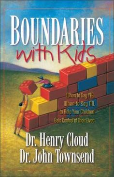 "I use say, ""Children don't come with a manual!"" They do! It's in the Bible. Cloud and Townsend have gather the scriptures together in this amazing book. Every parent should read this book. They will praise God that they did!"