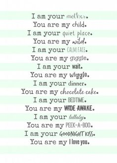 mom poem free printable--perfect gift for mothers day: