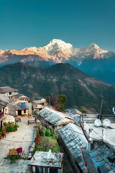 14 JULY According to a friend who is there... wandering the quiet little backstreets affords a calmer, un-touristy 'real' view of Nepalese life... wish I was there. Nepal: Annapurna